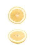 Single slice of a lemon  Royalty Free Stock Photography