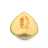 Single slice of a melon Royalty Free Stock Photography