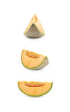 Single slice of a melon Royalty Free Stock Image