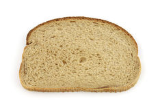 Single slice of rye bread Stock Photography