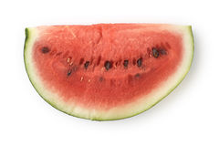 Single Slice of Watermelon Royalty Free Stock Images