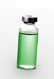 Single small bottle with drug isolated Royalty Free Stock Images