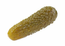 Single Small Dill Pickle Stock Images