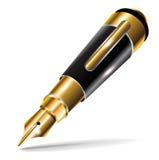 Single small fountain luxury pen Stock Photo
