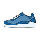 Single sneaker icon image Royalty Free Stock Images