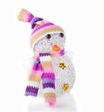 Single Snowman Royalty Free Stock Photos