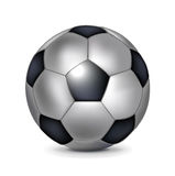 Single soccer ball Stock Photography