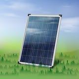 Single solar panel Stock Image
