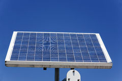 Single solar panels Stock Image