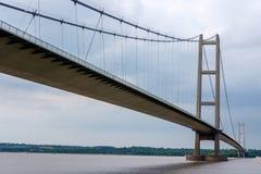 The Humber Bridge in England, UK Royalty Free Stock Photos