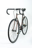 Single speed. Isolated photography of wooden cycle Royalty Free Stock Images