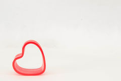 Single spring heart Stock Image