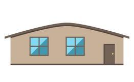 Single-storey house  Stock Photo