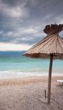 Single straw in Baska Royalty Free Stock Photography