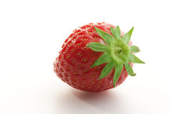 Single strawberry Stock Photo
