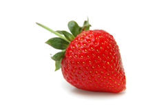 Single Strawberry. Closeup. Low Depth of Field Stock Image