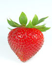 Single strawberry -  Stoc Image Royalty Free Stock Photography