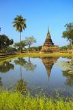 Single Stupa - Sukhothai Historical Park Stock Images
