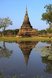 Single Stupa - Sukhothai Historical Park Royalty Free Stock Photography