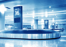 Baggage claim Royalty Free Stock Photos