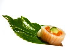 Single Sushi. Sushi on a white background stock images