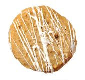 Single  sweet cookie Stock Images
