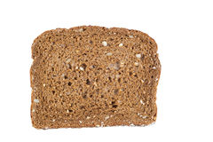 Single of Sweet Dark Whole Grain Bread Stock Images