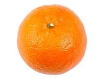 Single tangerine, orange fruit, citrus isolated on Royalty Free Stock Photo