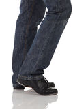 Single tap dancer Royalty Free Stock Images