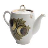 Single teapot. Isolated on white Stock Photo