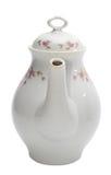 Single teapot. Isolated on white Stock Photos