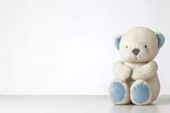 Single teddy bear Stock Photos