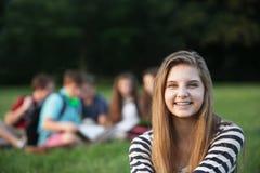 Single Teen Smiling Stock Photos