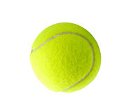 Single tennis ball Stock Photo