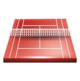 Single tennis court Stock Photography