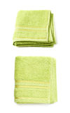 Single terry cloth towel  Royalty Free Stock Photos