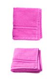 Single terry cloth towel  Stock Photography