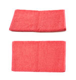 Single terry cloth towel  Royalty Free Stock Photo