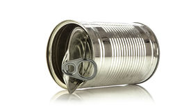 Single tin can Stock Images