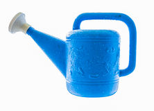 The single tool watering on white isolate background. Stock Photos