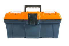 Single toolbox isolatted Stock Photography