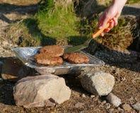 Single use grill Royalty Free Stock Photos