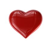 Single Valentine's Heart Royalty Free Stock Image