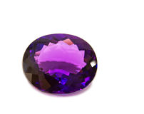 Amethyst Gem Stock Photography
