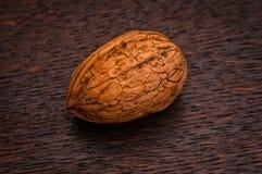 Single walnut Stock Image