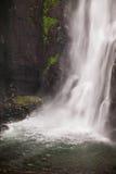 Single waterfall in cuban rondo indonesia. I took this photo on cuban rondo indonesia Royalty Free Stock Photos