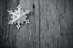 Single White Snowflake Stock Photos