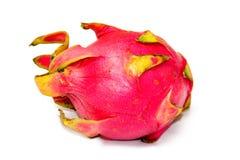 Single whole dragonfruit Royalty Free Stock Images