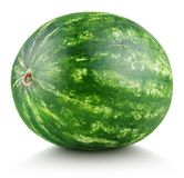 Watermelon isolated on white royalty free stock photography