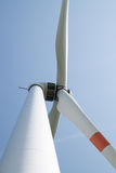 Single wind turbine Royalty Free Stock Image